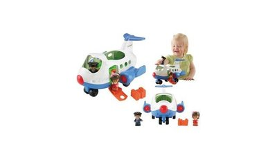 Fisher Price Little People Lil' Movers Vliegtuig