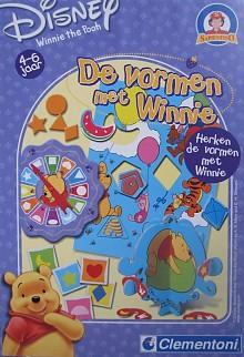 Winnie the Pooh de vormen spel