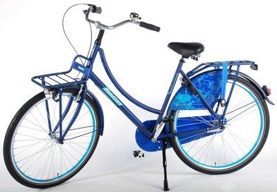 SALUTONI Urban Transportfiets Jeans 28 inch 56 cm Shimano Nexus 3-speed 95% afgemonteerd